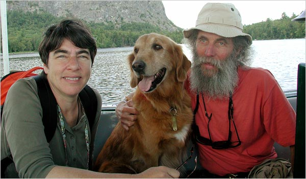 Image of Burt Shavitz and Roxanne Quimby