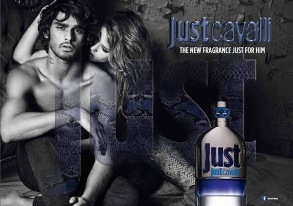 Image of Just Cavalli For Him Advertisement
