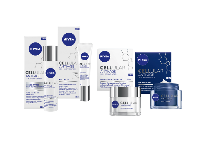 Image of Nivea Cellular Anti-Age Skin Rejuvenation Range