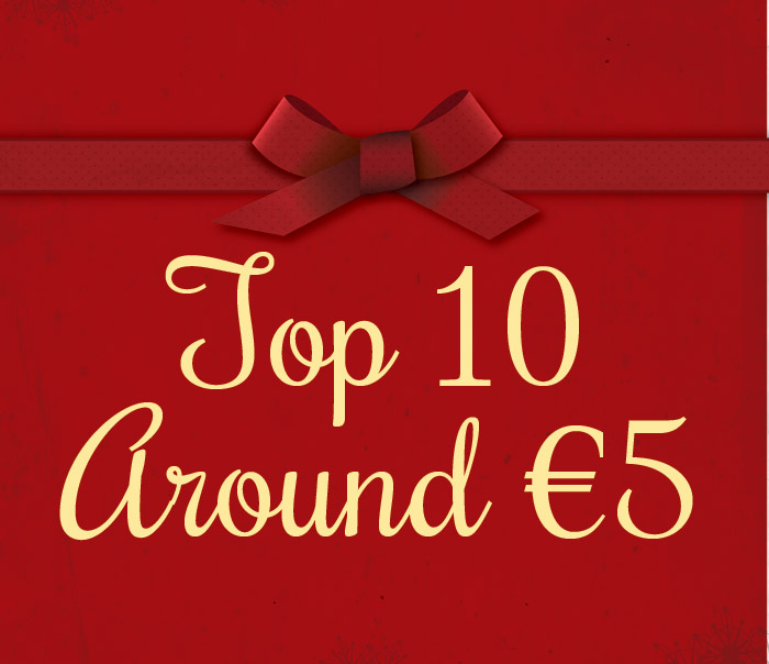 Gift Ideas – Our Top 10 around €5!!
