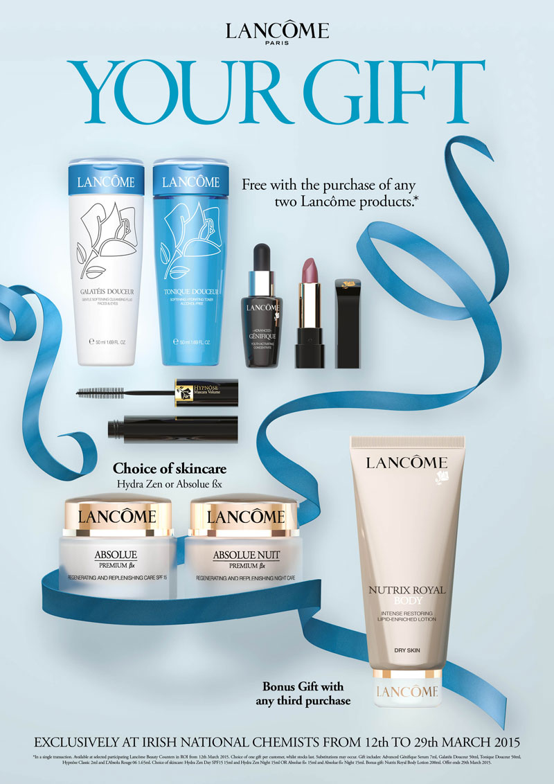 Your Lancôme Gift at Sam McCauleys