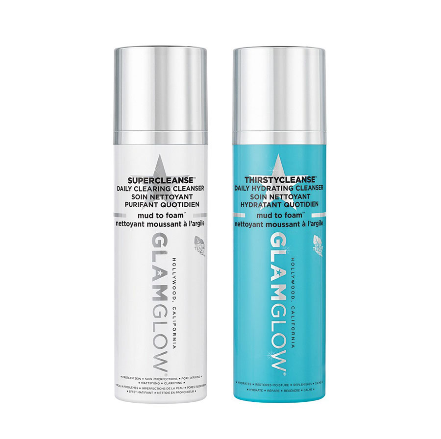 GET GLAMTASTIC SKIN WITH GLAMGLOW DAILY CLEANSERS