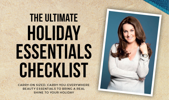 Mairead Ronan's Ultimate Holiday Essentials Checklist