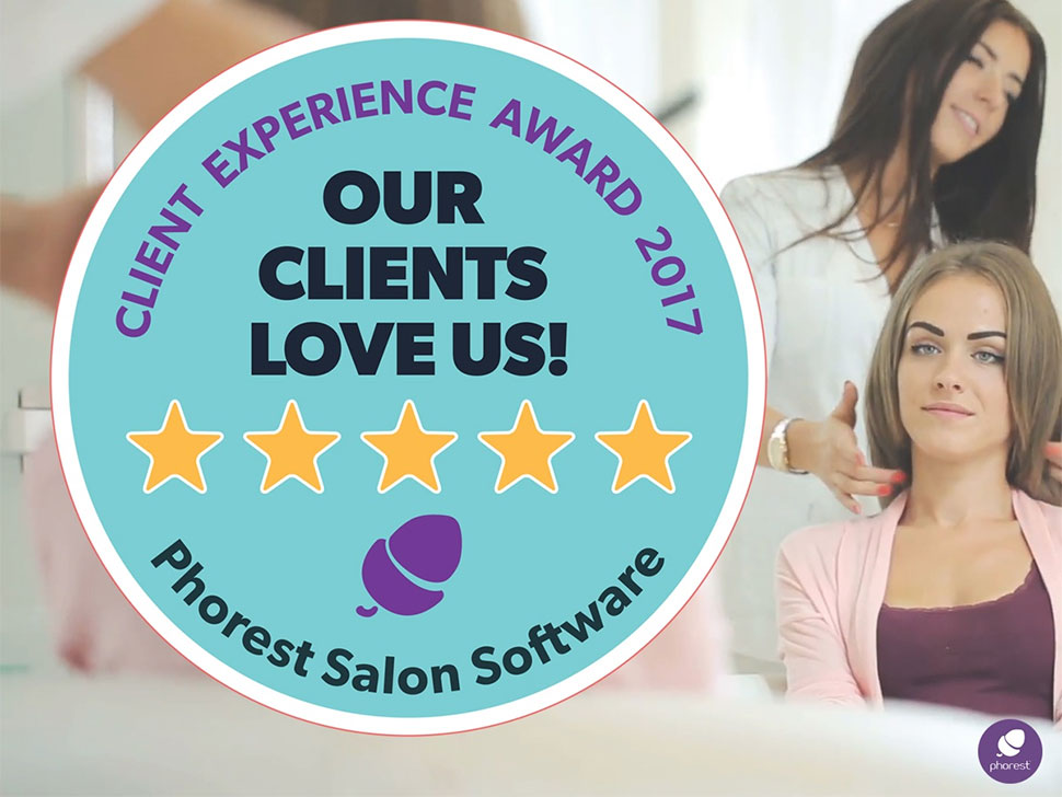 Sam McCauley Beauty Salons Win Client Experience Award