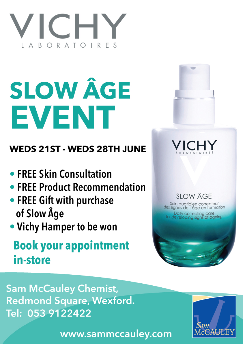 Vichy Slow Age Event Redmond Square Wexford