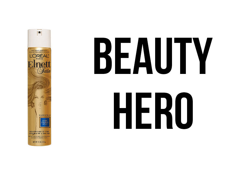 Beauty Hero – L'Oreal Elnett Hairspray