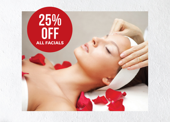 Facials at Sam McCauley Beauty Salons