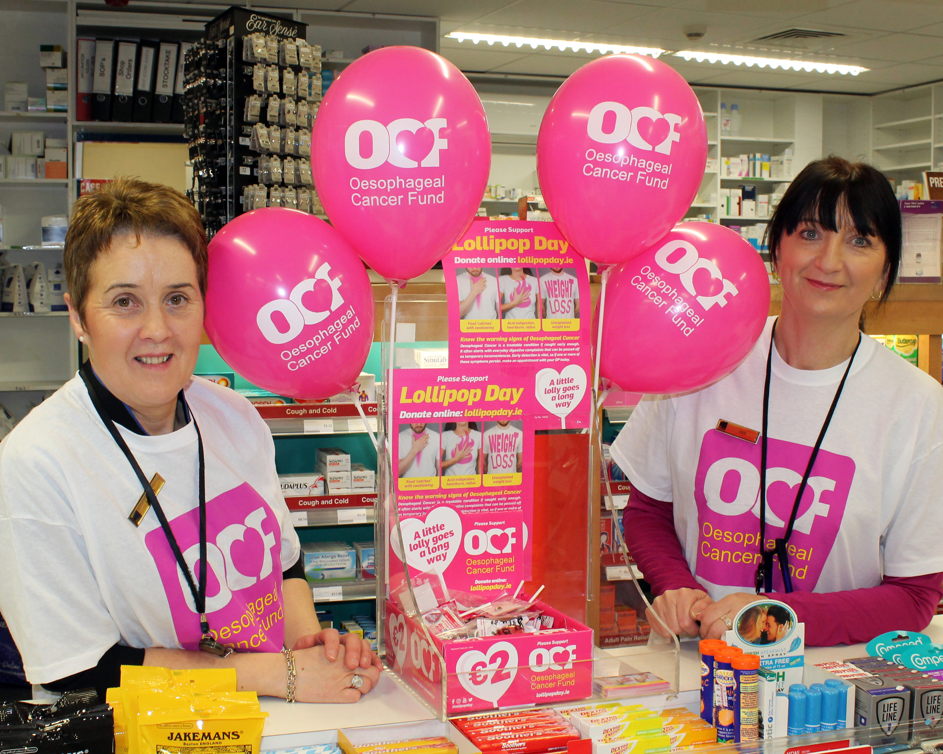 Lollipop Day for Oesophageal Cancer Fund