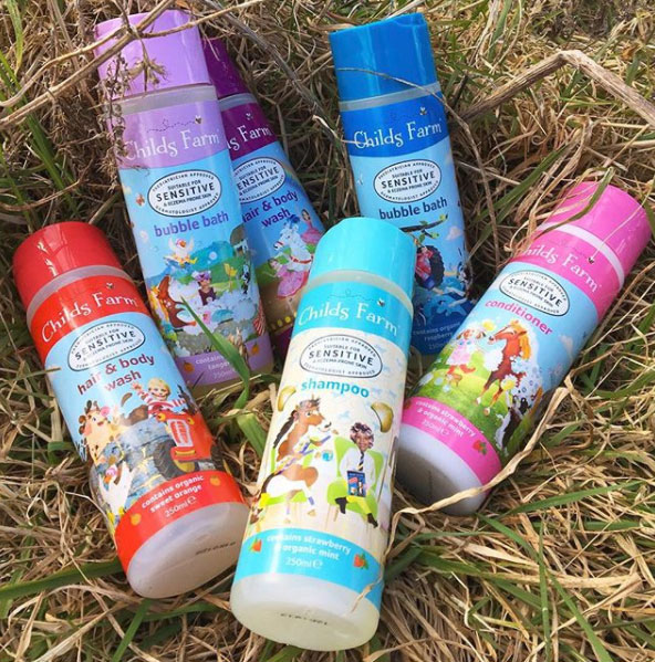 Childs Farm Skincare Range