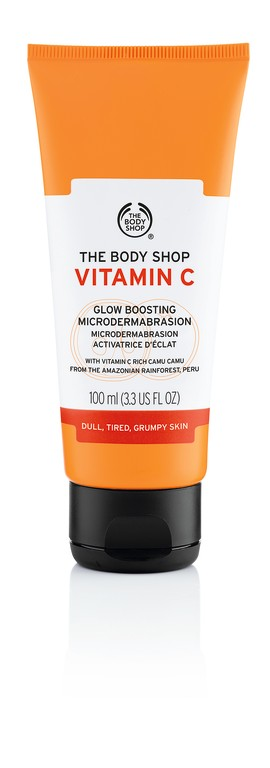The Body Shop Vitamin C Glow Boosting Microdermabrasion Exfoliator