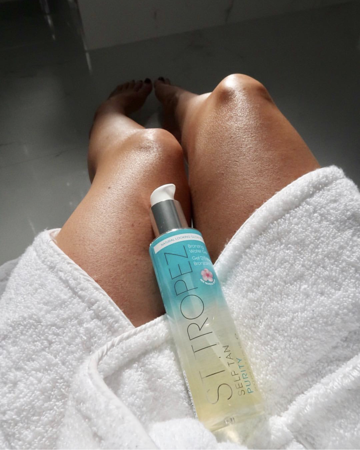 St.Tropez Self Tan Purity Bronzing Water Gel Michaellas Result